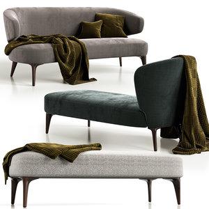 furniture aston minotti 3D model