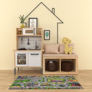childroom furniture child 3D