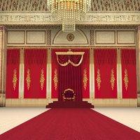 scene buckingham palace 3D