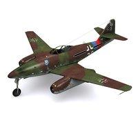 Messerschmitt Me 262A-1A Schwalbe - JG7 Nowotny