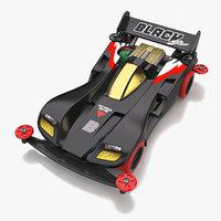 Black Saber Super-I Chassis
