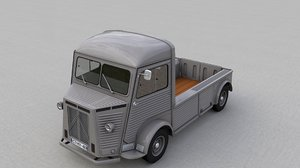 3D citroen hy pickup 1948