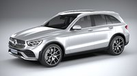 3D mercedes-benz glc amg