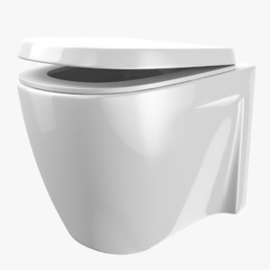 toilet bidet wc 3D model