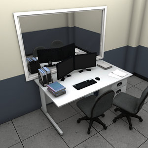 3D interrogation room