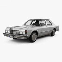 Chrysler LeBaron Medallion Sedan 1978