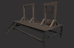 gallows guillotine - packed 3D