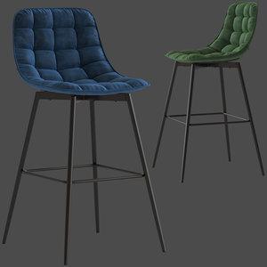 3D home republic montreal stool model