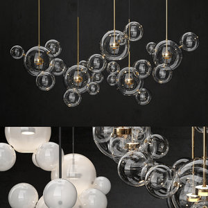 giopato coombes chandelier bolle 3D model