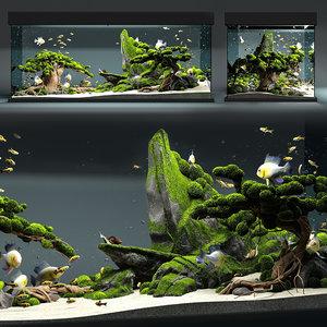3D aquarium snail