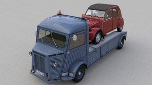 citroen hy truck 1950 model