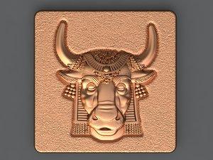 egyptian bull 3D model