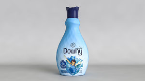 3D downy concentrate detergent bottle