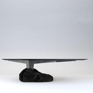3D model ewe studio humo table