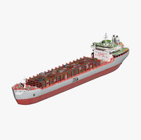 container ship generic vessel model