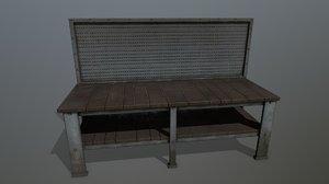 workbench bench model