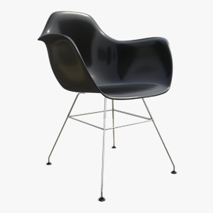interior chair seat steel 3D model