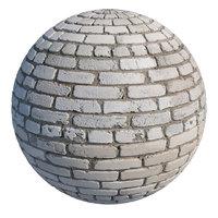 Old silicate brick masonry