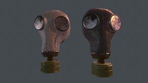 3D mask gas model