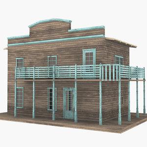 western west house 3D