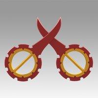 Final Fantasy X Rikku Dagger Cosplay Weapon Prop