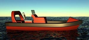 frc mob boat 3D