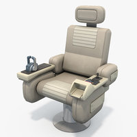 3D command chair