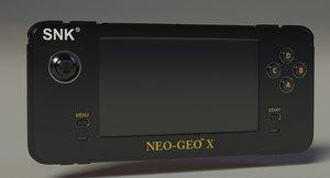 3D model neo geo x