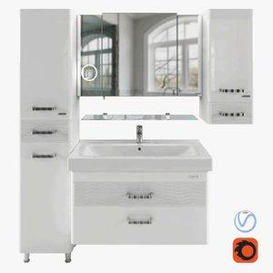 bathroom furniture sierra shelf model