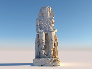 ancient giants monument 3D model