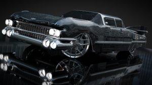 3D cc 1959 car model