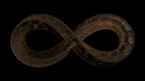 infinity knot 3D model