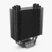 passive cpu cooler cooling 3D model
