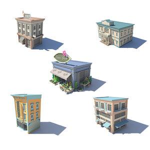 fivestore05 store 3D model