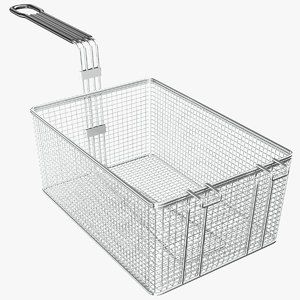 3D model real basket