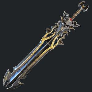 fantasy sword 18 model