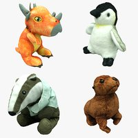 Plush Animal Collection 02