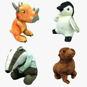 plush animal 3D model