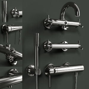 3D grohe atrio faucets