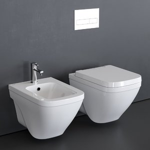 3D model nk concept wall-hung toilet