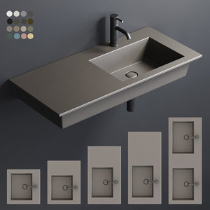 era wall-hung washbasin model