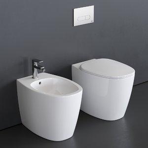 dea toilet bidet 3D model