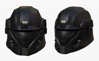 Helmet scifi military combat soldier fantasy