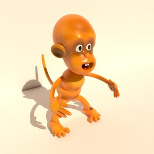 monkey toy model