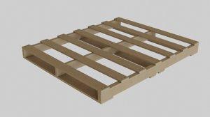 wooden pallete 3dmodel model