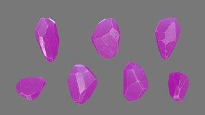 crystal rock 3D