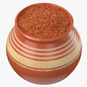 ceramic pot brown rice model