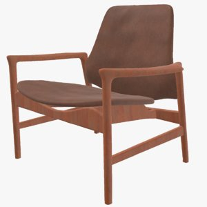 3D realistic armchair model