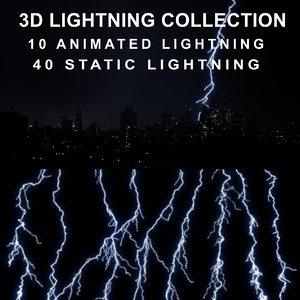 lightning strike 3D