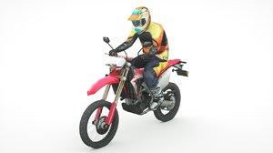 3D honda crf450l 2020